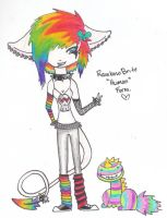 RainbowBrite Human Form by invaderjeffy
