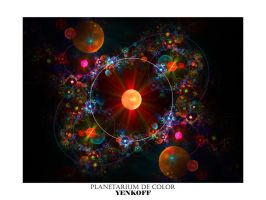 Planetarium de Color by Yenkoff