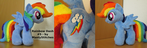 Rainbow Dash #5 by ManlyStitches