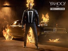 First Look at Ghost Rider for Agents of SHIELD S4! by Artlover67