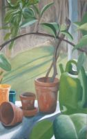 Still Life With Watering Can by smeasle