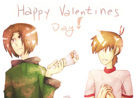 Happy Valentines Day by LinksInMe