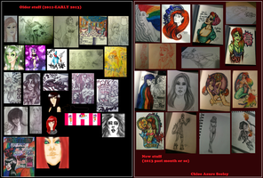 Art summary and shit by sixtiesgrrrl