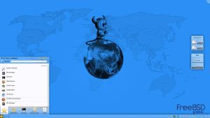 November KDE4 on PC-BSD inFusion by rvc-2011