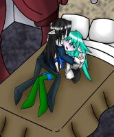 .:KxF:. in bed by camilleartist132