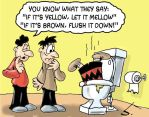 Why You Shouldn't Throw Peanuts Down The Toilet by Smigliano