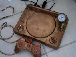 Steampunk PS1 by LordDelightfullyMad