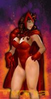 scarlet witch by TIRRIA7