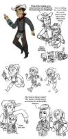Portal 2-Fallout:NV Crossover by generalofdarkness