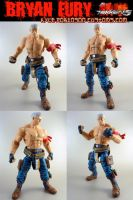 Tekken Custom Bryan Fury by KyleRobinsonCustoms