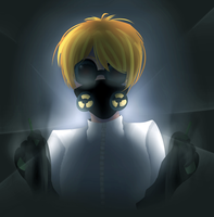 Gas Mask by teaunicorn