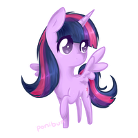 Twilight Sparkle by ponibun