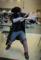 Bloodborne Hunter Cosplay [Indy ComicCon, 2015] by Lavilethorn