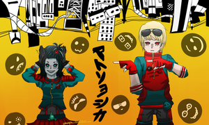 Matryoshka!Stuck - DaveTerezi by PrinceOfBuckets