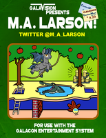 M.A. Larson Pitfall Autograph Pic- GalaCon by PixelKitties