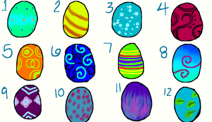 Eggs for adoption OPEN 2 eggs are left now! by Stormdeathstar9
