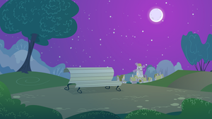 Park Background (Nighttime version) by mandydax