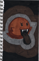 """Day 87 - """"Boo"""" by heybass"""