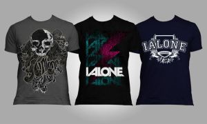 I ALone TShirt Designs by my-name-is-annie