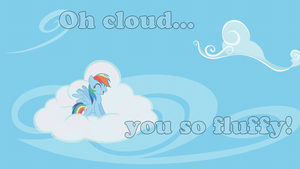 Rainbow Cloud Wallpaper by Sir-Szengelot