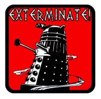 Dalek T shirt design by gfoyle