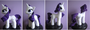 Commission- Rarity v2.0 by FollyLolly