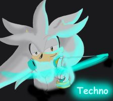 Silver: Techno by magicwolf5