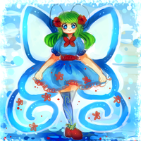 Loving Butterfly by Chennaaa