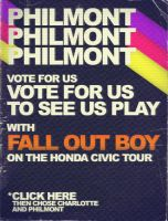 Philmont and Fall Out Boy by Wyel
