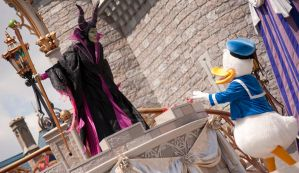 Standing Up to Maleficent by TheEmeraldCrusader