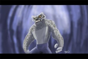 Tai Lung : The escape by Hesstoons