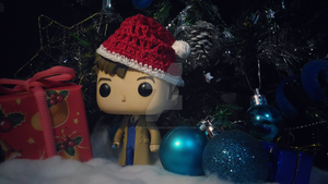 Holiday Funko Pop Figure 54 by iAmAneleBiscarra