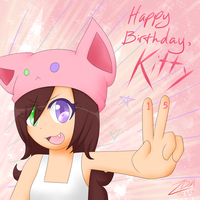Happy Birthday, Kitty! by xAuraSolarisx