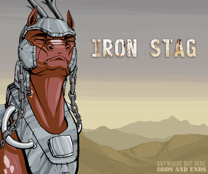 Iron Stag by Auraion