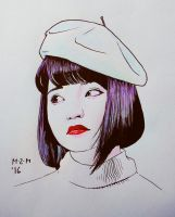 Beret by prinsepolo