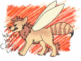 Angry Wasp by JemWolf