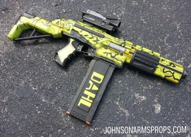 Custom Borderlands 2 Attack Scorpio NERF by JohnsonArms
