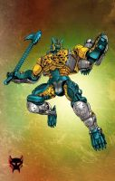 Transmetal Cheetor by Dan-the-artguy