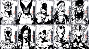 Marvel Beginnings 2 - Black and White by eisu
