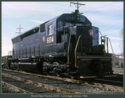 Brand New Pennsy SD45 by classictrains