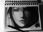 Lightning fanart (pencil drawing)  by DFrohlic