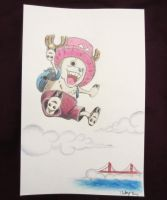 Chopper visits San Francisco by iliketodoodle