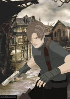 Request: Leon from Resident Evil 4! by Artworx88