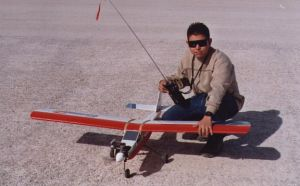 Me and my rc airplane by VyToR