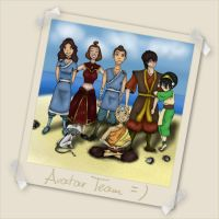 Team Avatar by ladykitana
