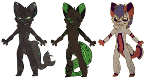 Fish cat adopts (paypal only)  OPEN by CremexButter