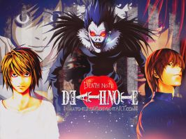Wallpaper - Death Note by Mato-Kuroi26