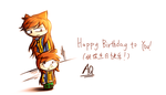 (Gift)Happy birthday by aq1746950
