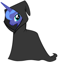 Cloaked Luna by Ernestboy