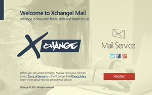 Xchange Mail Concept by andreascy